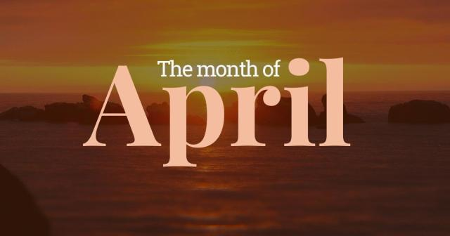 the-month-april